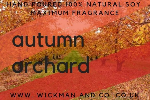 Autumn Orchard Soy Wax Candle